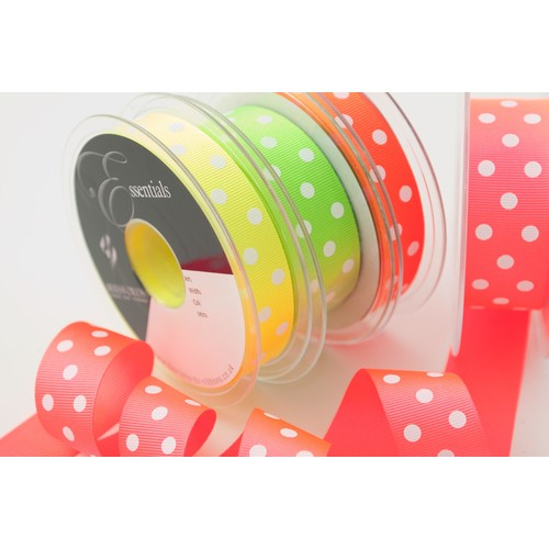(1443716) Dotty Neon Grosgrain