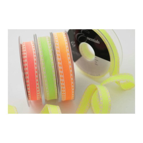 (6012115) Neon Stitch Ribbon