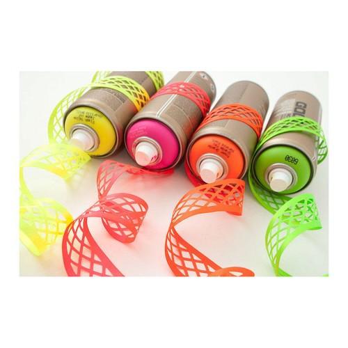(7000235) Trellis Laser Embossed Ribbon (6845 Flo Pink)