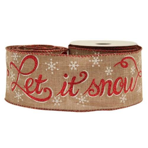 (AP-RI6897) Let It Snow Hessian 63mm x 10y