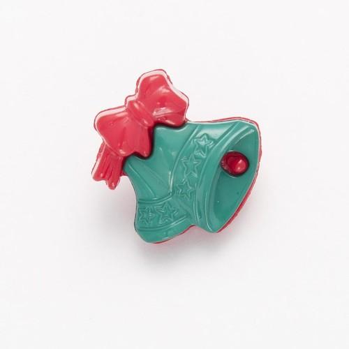 100 x Christmas Bell Buttons (B8500251)