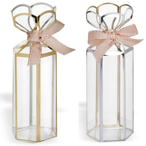 Lantern Box Medium Gold/Silver 12 Pack