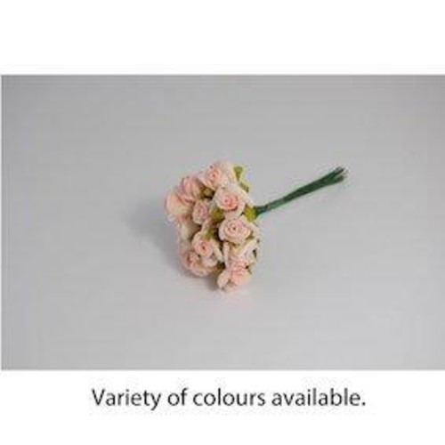 15mm Polyfoam Rose 6 Bunch Pack (BB1783)(Red)