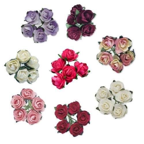 (BB1895) Tea Roses (Two Tone Lilac)