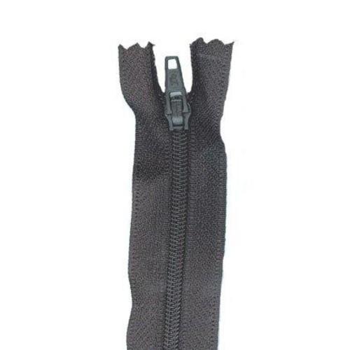 (BN4) Budget Nylon Autolock Zip Fasteners 10cm (310 Black)