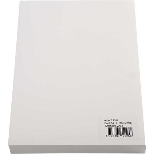 (CC21652) A4 - White - 250g x 100