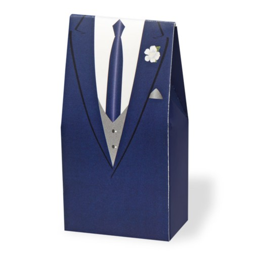 Navy Suit Box (CGL08N)