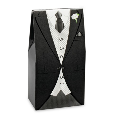 Black Morning Suit Box 50 x 30 x 100mm (CGL102)