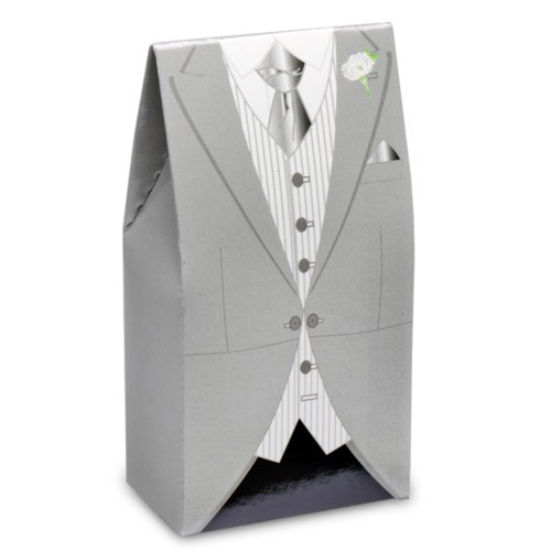 Grey Morning Suit Box 50 x 30 x 100mm (CGL103)