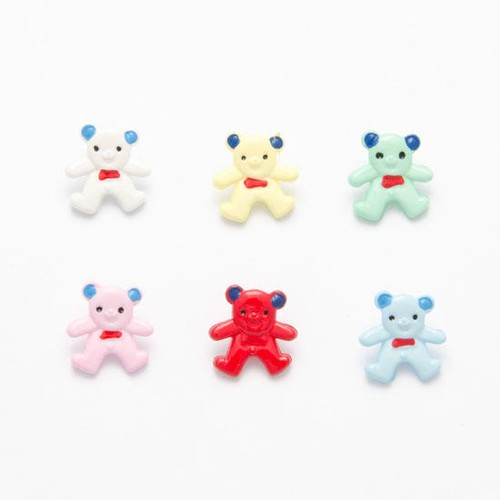(CN10) Teddy Buttons