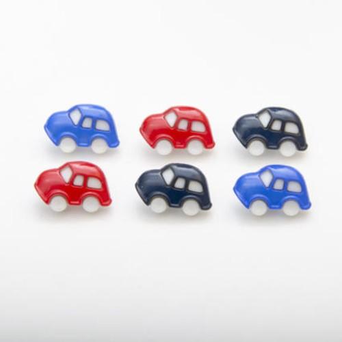 (CN24) Toy Car Buttons(24 Royal Blue)