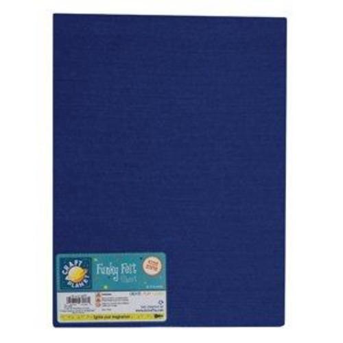 (CPT7006) - A4 Acrylic Felt - Royal Blue (24pk)