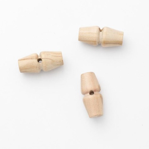 100 x 25mm Wooden Toggles (CW1025)