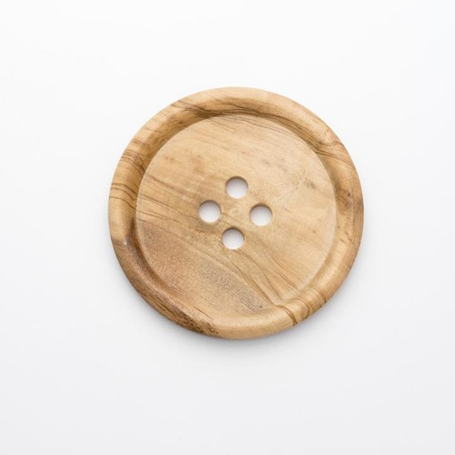 10 x 4 Hole Wooden Button Size 125 (CW11125)
