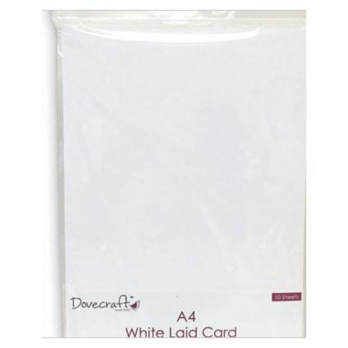 A4 Premium White Laid 220gsm (DCBS100)