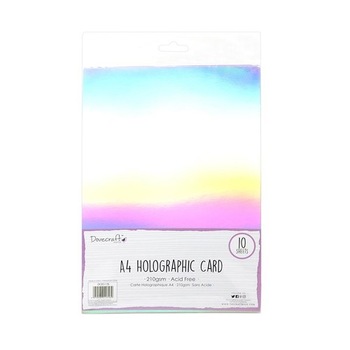 10 x Holographic Mirror A4 (DCBS170)