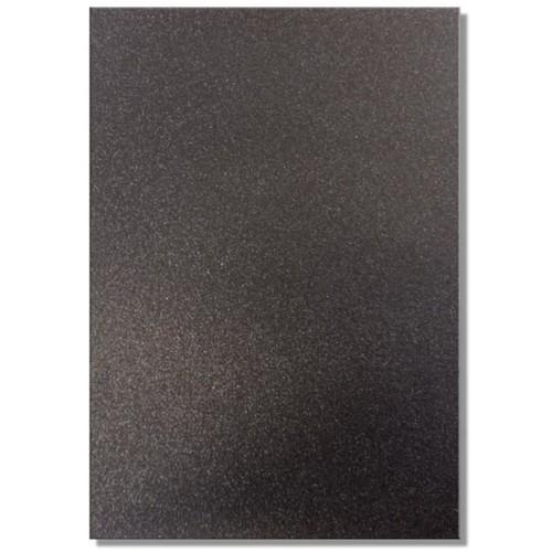 Dovecraft A4 Glitter x 20 Sheets Black (DCGC01)