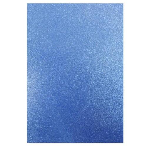 Dovecraft A4 Glitter x 20 Sheets Blue DCGC006