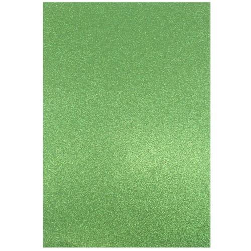 Dovecraft A4 Glitter x 20 Sheets Emerald (DCGC07)