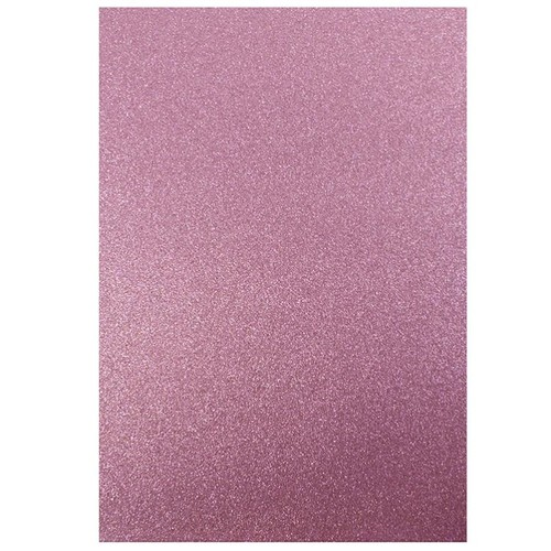 Dovecraft A4 Glitter x 20 Sheets Pink (DCGC09)