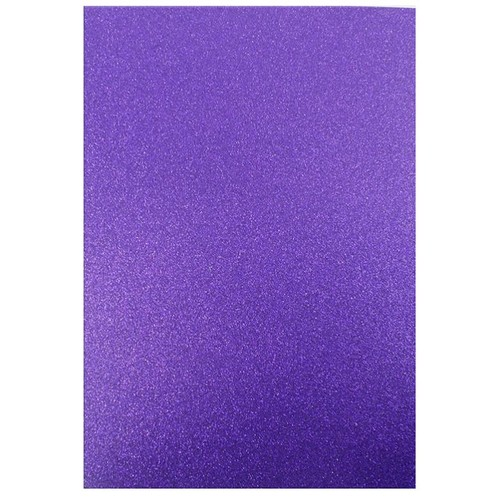 Dovecraft A4 Glitter x 20 Sheets Amethyst (DCGC10)