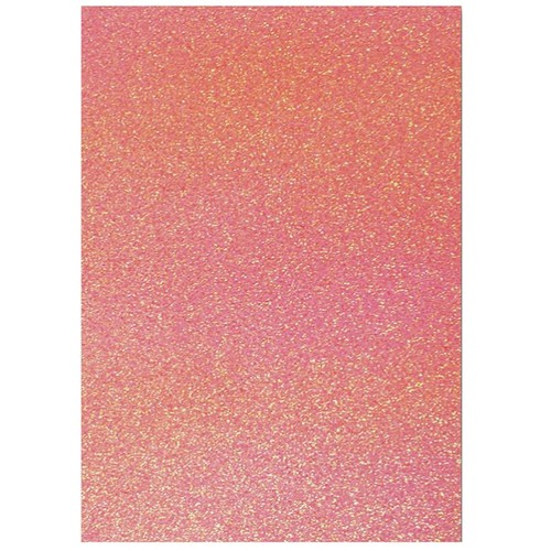 Dovecraft A4 Glitter x 20 Sheets Candy (DCGC11)