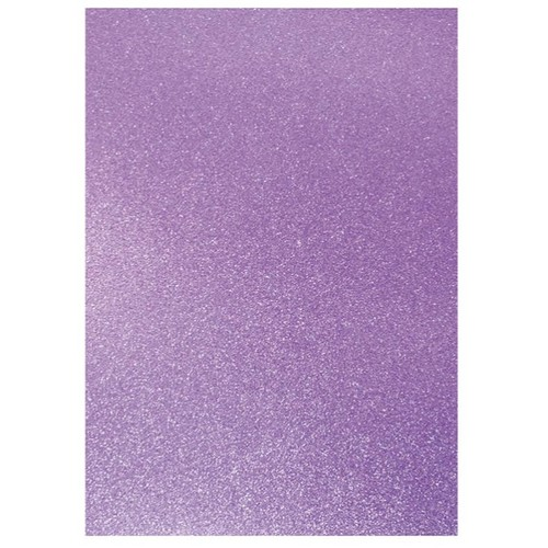 Dovecraft A4 Glitter x 20 Sheets Lilac (DCGC12)