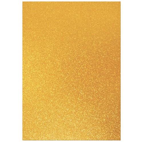 Dovecraft A4 Glitter x 20 Sheets Bronze DCGC013
