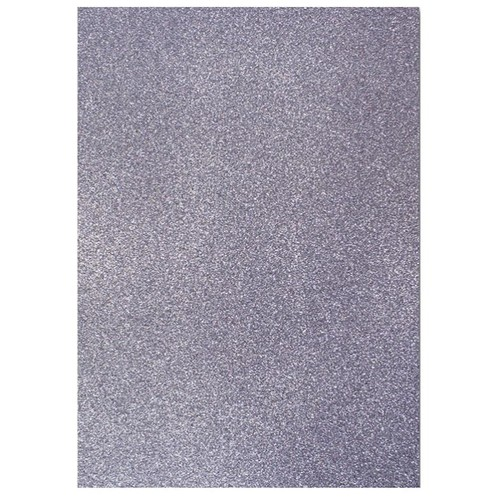 Dovecraft A4 Glitter x 20 Sheets Charcoal DCGC014