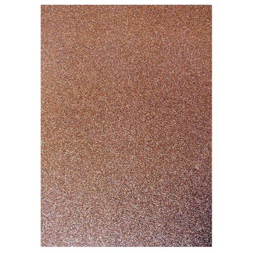 Dovecraft A4 Glitter x 20 Sheets Chocolate (DCGC15)
