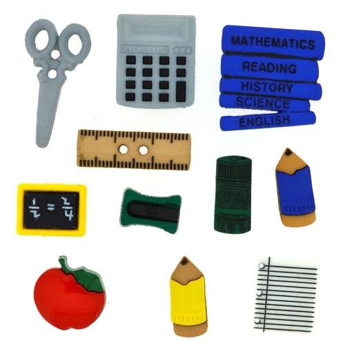 (DIU00324) - Dress It Up! Buttons - Pencil Box