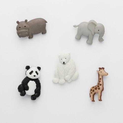 (DIU09005) - Dress It Up! Buttons - Zoo Cuties