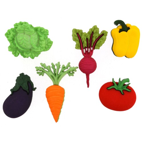 (DIU09381) - Dress It Up! Buttons - Fresh Produce