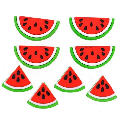(DIU09383) - Dress It Up! Buttons - Watermelons