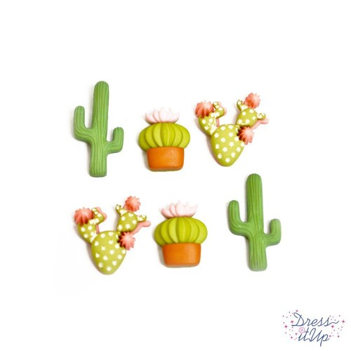 (DIU11385) - Dress It Up! Buttons - In The Desert