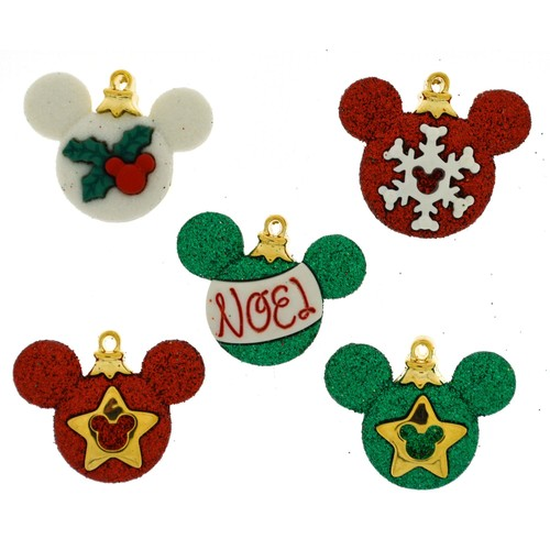 (DIUD08233) - Dress It Up! Disney Buttons - Mickey Ornaments