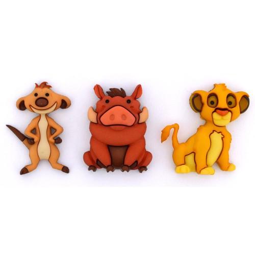 (DIUD09513) - Dress It Up! Disney - Simba, Timon & Pumbaa