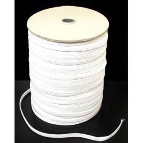 (ELA6W) Elastic 6 Cord White 250m Roll