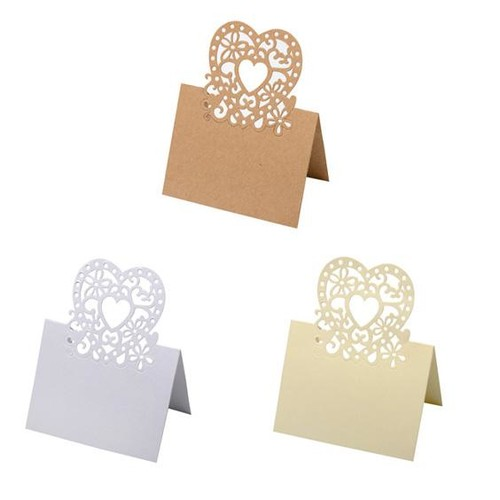 20mm Laser Cut Place Setting 80 x 1 (HY013)