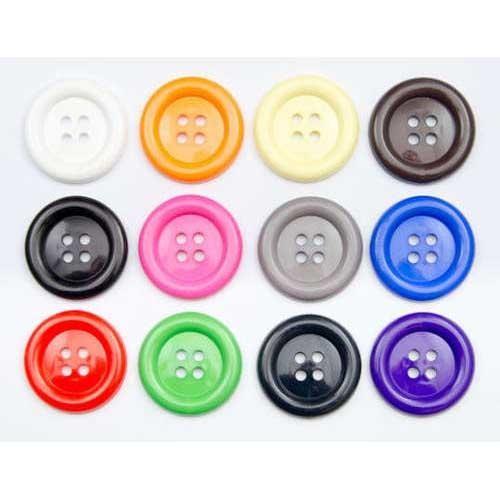 (K185960) Big Clown Buttons Size 60 (Brown)