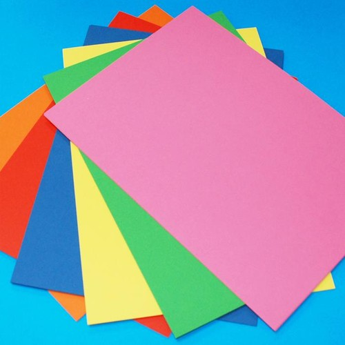 A5 Assorted Colour Cards 100 Sheets (LINE1027)
