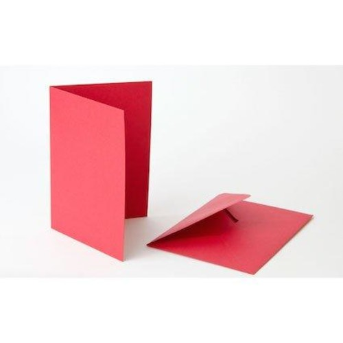 5 Inch x 7 Inch Red Cards & Envelopes Line1090