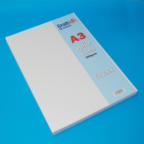 50 x A3 Linen Off-White (LINE2013)