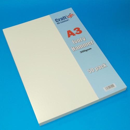 50 x A3 Hammer Ivory (LINE2026)