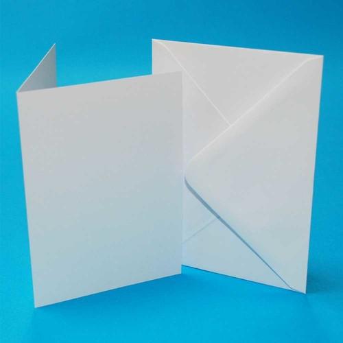 Cards & Envelopes C6 White 50 Pack (LINE273)