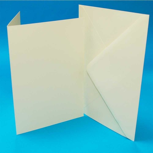 Cards & Envelopes C6 Ivory 50 Pack (LINE275)