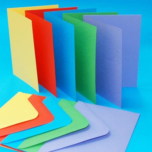 Cards & Envelopes C6 Bright 50 Pack (LINE281)