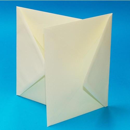 5 x Cards & Envelopes C5 Ivory 2(LINE297C)