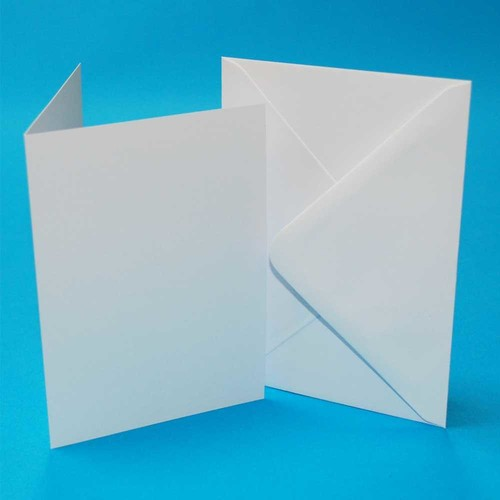 5 x Cards & Envelopes C5 White 2(LINE297W)
