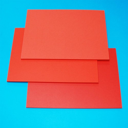 A5 Cards 60 Sheets Red (LINE41275)
